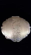 Pudriera veche din argint - 119 - poza 3 - Galeria Anton