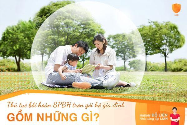Hồ sơ yêu cầu chi trả quyền lợi bảo hiểm cho sản phẩm bảo hiểm trọn gói hộ gia đình gồm những gì?