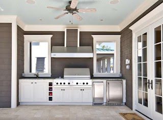 Outdoor Kitchen Cupboards Beautiful Ideas for Summer Freshomecom