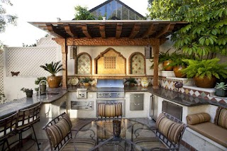 Beautiful Outdoor Kitchens 95 Cool Kitchen Designs Digsdigs