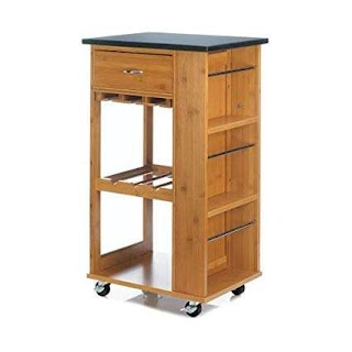 Outdoor Kitchen Storage Cart Amazoncom Accent Plus Marbletop Small