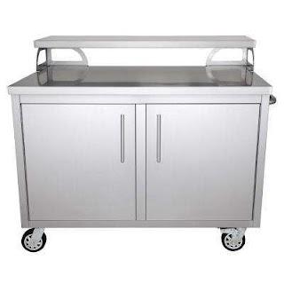 Outdoor Kitchen Storage Cart Casa Nico Cabinets The