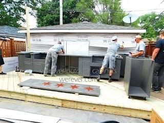 Outdoor Kitchen Equipment Modular Islands Prefab Island Frames Products