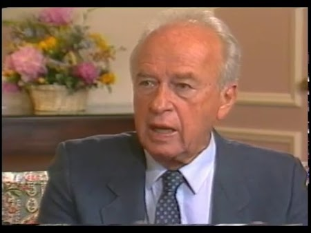 Livia Helmer Intro and Part Yitzhak Rabin Interviewed in Israel (Original Airdate 7/9/1990 with content 6/24/1990)