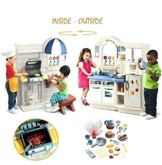 Little Tikes Indoor Outdoor Kitchen Grill Cook Bali Baby Shop