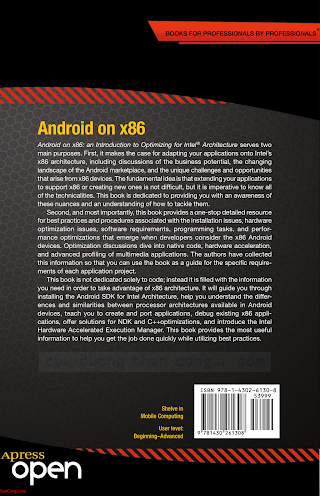 1430261307 {B7C5A441} Android on x86_ An Introduction to Optimizing for Intel Architecture [Krajci _ Cummings 2013-12-26].pdf
