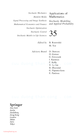 0387008942 {64EEC282} Stochastic Approximation and Recursive Algorithms and Applications (2nd ed.) [Kushner _ Yin 2003-07-17].pdf