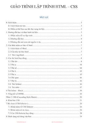 GIÁO TRÌNH LẬP TRÌNH HTML – CSS.pdf