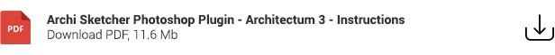 Architecture Sketch - Architectum 3 - Photoshop Plugin - 3