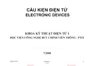 Slide.Cấu Kiện Điện Tử - Trần Thị Cầm, 456 Trang.pdf