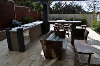 Outdoor Bbq Kitchens Sydney Indoor in Alfresco