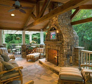 Outdoor Kitchens with Fireplace Kitchen Patio Construction Nashville Tn