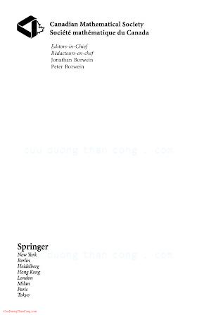 0387954341 {F2B8D369} Recent Advances in Algorithms and Combinatorics [Reed _ Sales 2002-11-22].pdf