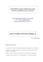 Les ictères rétentionnels.pdf