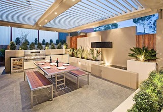 Outdoor Kitchen Area 30 Fresh and Modern S