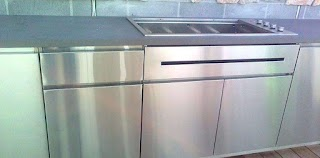 Stainless Steel Outdoor Kitchen Melbourne Bbq Cabinets Barbecue S