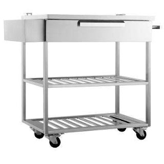 Outdoor Kitchen Carts Newage Products Stainless Steel Classic 32x336x24 In