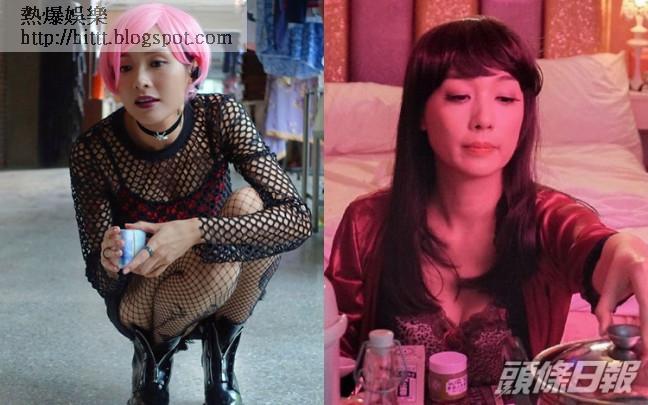 李佳芯同江美儀喺《殺手》中,都有晒吓身材。