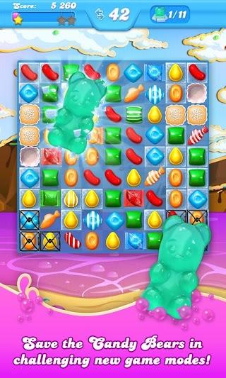Candy Crush Soda Saga Mod APk 1.180.4 [Unlimited Money]