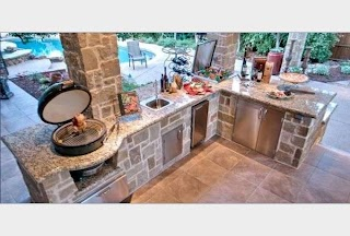 Natural Gas Outdoor Kitchen Wondering How to Use a Grill for The First Time Waterman Way