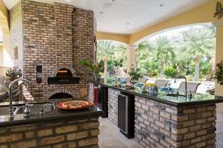Italian Outdoor Kitchen Design Backyard Design