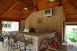 Outdoor Kitchens Fort Worth Cabanas General Contractor Tarrant County