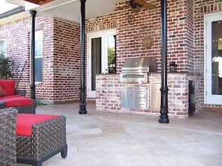 Louisiana Outdoor Kitchens Randazzo Kitchen Pool Exterior Designs Inc