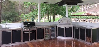 Outdoor Kitchen Bbqs Country Lifestyle with Weber Bbq Prestige