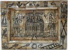 "Icoana ""Sfintii Imparati Constantin si Elena"", sec al XVIII-lea, Ierusalim"