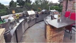 Outdoor Kitchen Plumbing Installing Patterson Heating Inc
