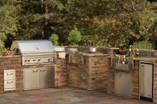 Outdoor Kitchen Canada S Markhannan Residential Stone Masonry London