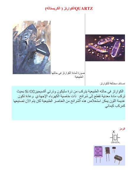 تحميل كتاب الكرستالة.pdf - أساسيات الإلكترونيات