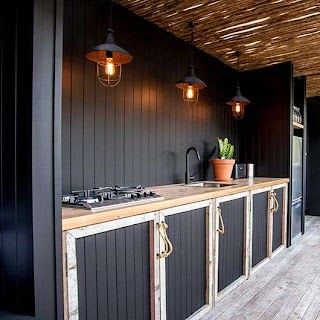 Outdoor Kitchen Cabinet 20 Beautiful Ideas Outside S