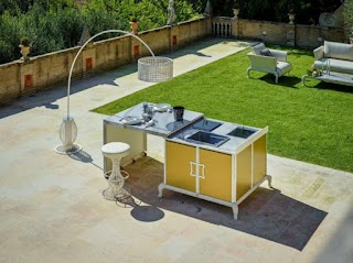 Free Standing Outdoor Kitchens Cooking Fresh Is Easy in Modern