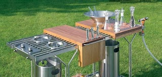 Compact Outdoor Kitchen Step Out to Enjoy The Beauty Modern S