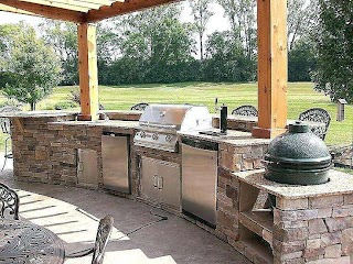 Green Egg Built in Outdoor Kitchen with S Luxury Best W Big Images