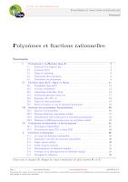 """cours Polyn""""mes et fractions rationnelles Algebre 1.pdf"""