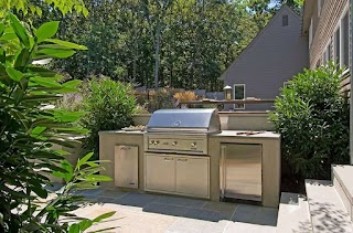 Small Outdoor Kitchen Designs Layouts Samples Ideas Landscaping Network