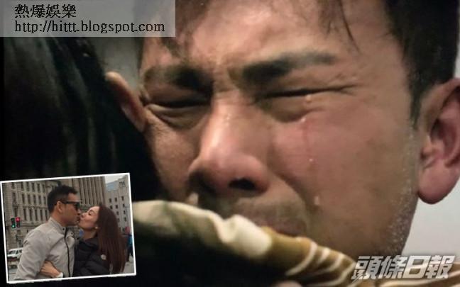 林文龍演得好投入,流晒眼淚,愛妻郭可盈係頭號粉絲。
