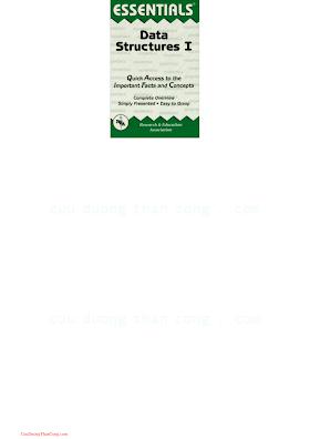 0878917284 {B6CF1CC6} Data Structures I Essentials [Smolarski 1990-05-04].pdf
