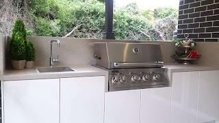 Outdoor Bbq Kitchens Sydney Custom Alfresco Kitchen Designs