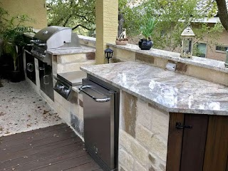 Premier Outdoor Kitchens Kitchen Builders San Antonio Diamond Decks