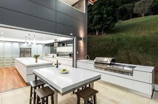 Modern Outdoor Kitchen Ideas Beautiful for Summer Freshomecom