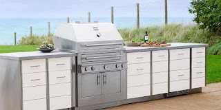 Cabinets for Outdoor Kitchen Stainless Steel Kalamazoo Gourmet