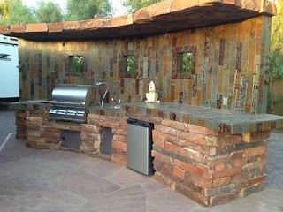 Rustic Outdoor Kitchen Ideas Creative and Wonderful Inspiration