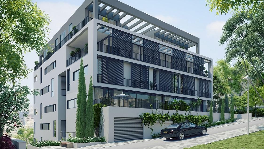 למכירה מגוון דירות בבניין בוטיק ברחוב משה שרת היוקרתי  החל מ