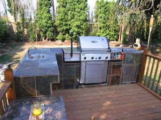 How to Build Outdoor Kitchen Island an and Bbq Dengarden