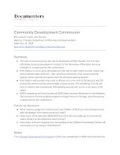 Community Development Commission