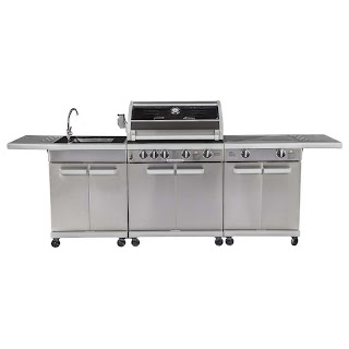 Bunnings Outdoor Bbq Kitchens Matador 4 Burner Artiste Kitchen Warehouse