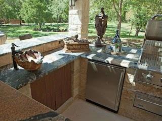 Outdoor Kitchen Decor 12 Gorgeous S Hgtvs Ating Design Blog Hgtv